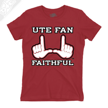 Load image into Gallery viewer, Ute Fan Faithful  - Girls T-Shirt