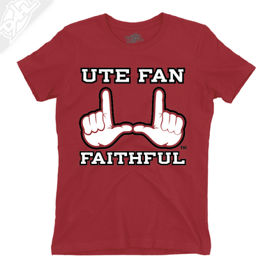 Ute Fan Faithful  - Girls T-Shirt