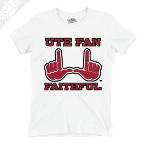 Ute Fan Faithful  - Womens T-Shirt