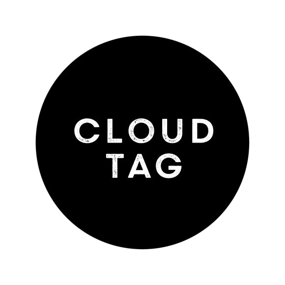 cloud tag, cloud sign