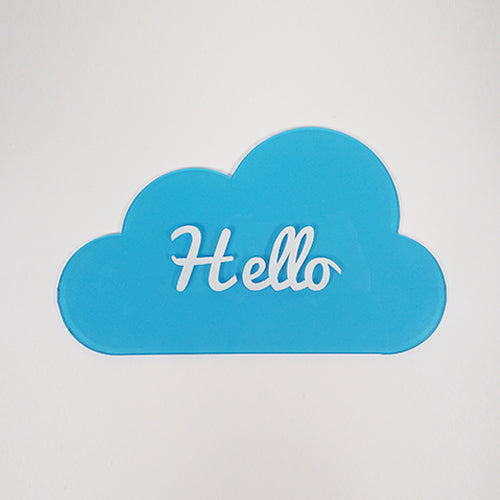 Hello Cloud Tag / Personalized Cloud Tag