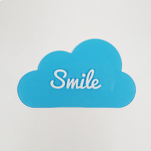 Smile Cloud Tag / Personalized Cloud Tag
