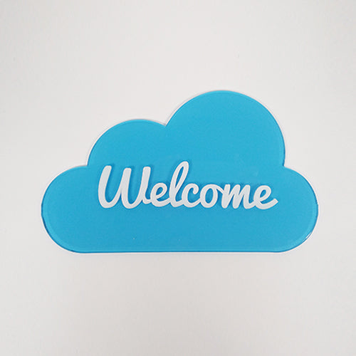 Welcome Cloud Tag / Personalized Cloud Tag