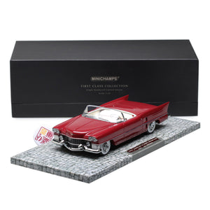 MINICHAMPS 1:18 CADILLAC LE MANS DREAM CAR - 1953 - RED L.E. 300 pcs. 107148231