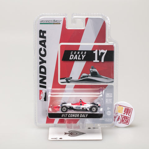 Greenlight 2018 INDY #17 Conor Daly Dale Coyne w// Thom Burns  US AIR FORCE 10824