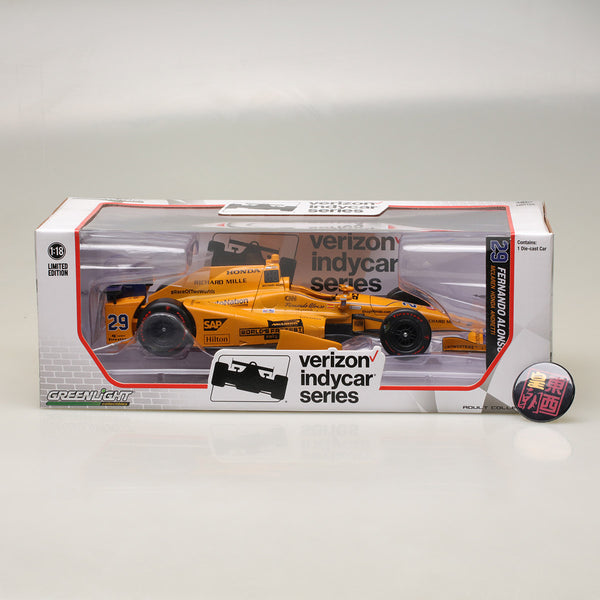 GreenLight 1:18 2017 #29 Fernando Alonso / McLaren-Honda-Andretti Indycar Diecast Model Car 11019