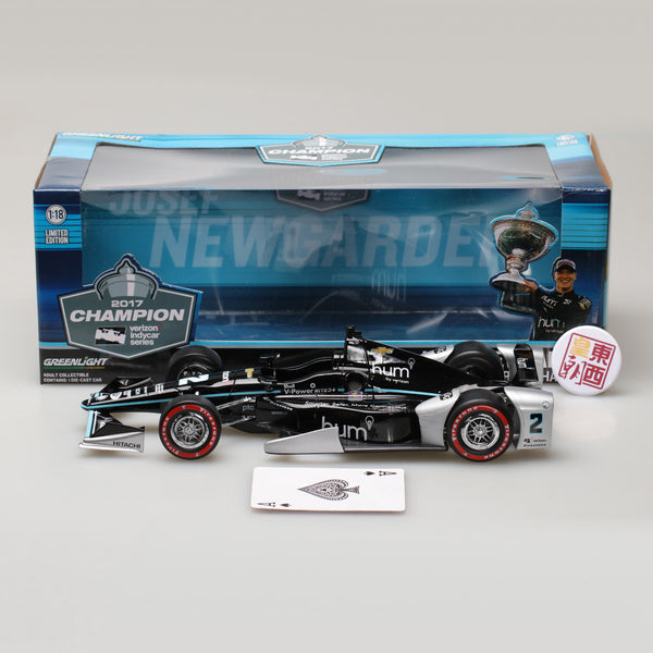 GreenLight 1:18 2017 #2 Josef Newgarden - 2017 Verizon IndyCar Series Champion / Penske Racing Hum by Verizon 11021