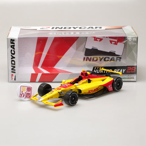 GreenLight 1:18 2018 #28 Ryan Hunter-Reay / Andretti Autosport, DHL 11022