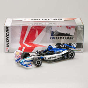 GreenLight 1:18 2018 #30 Takuma Sato / Rahal Letterman Lanigan Racing, Mi-Jack 11028