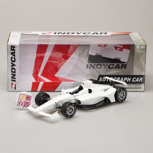 GreenLight 1:18 2018 White Autograph IndyCar (New Dallara Universal Aero Kit Tooling) 11034