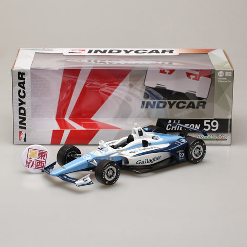GreenLight 1:18 2018 #59 Max Chilton / Carlin, Gallagher 11035