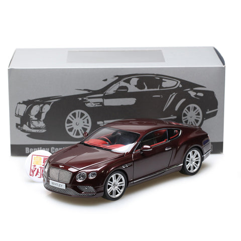 PARAGON 1:18 Bentley Continental GT Coupe 2016 (RHD) Diecast Model Car PA-98221R