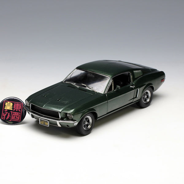 GreenLight 1:18 Bullitt (1968) - 1968 Ford Mustang GT Fastback Diecast Model Car 12822