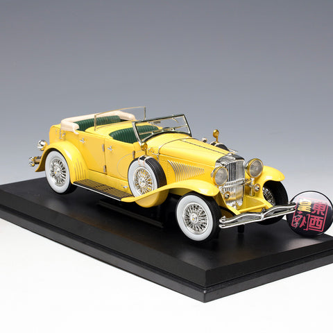 GreenLight 1:18 The Great Gatsby (2013) - Duesenberg II SJ 12927 Diecast Model Car