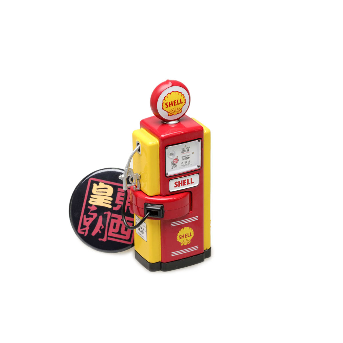 GreenLight 1:18 Vintage Gas Pumps Series 1 - 1948 Wayne 100-A Gas Pump Shell Oil 14010-B