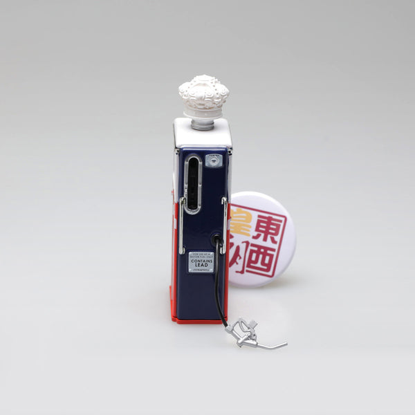 GreenLight 1:18 Vintage Gas Pumps Series 3 - 1954 Tokheim 350 Twin Gas Pump Red Crown Gasoline 14030-C
