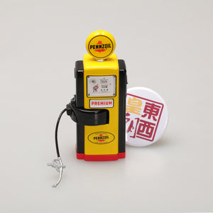 GreenLight 1:18 Vintage Gas Pumps Series 4 - 1948 Wayne 100-A Gas Pump Pennzoil Supreme Quality Safe Lubrication 14040-A