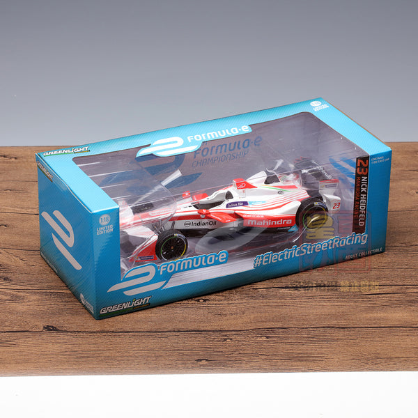 GreenLight 1:18 2016-17 FIA Formula E #23 Nick Heidfeld / Mahindra Racing Diecast Model Car 18103