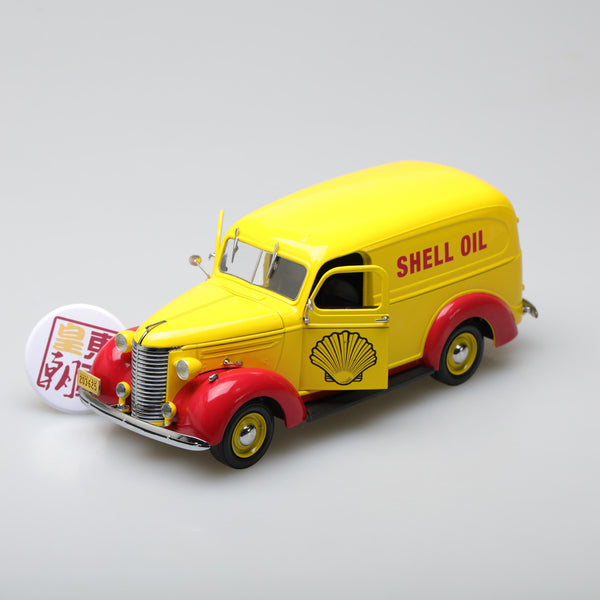 GreenLight 1:24 Running on Empty - 1939 Chevrolet Panel Truck - Shell Oil 18237