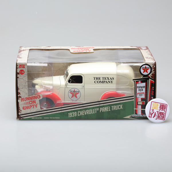 GreenLight 1:24 Running on Empty - 1939 Chevrolet Panel Truck - Texaco 18238