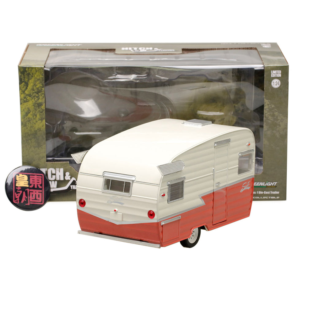 GreenLight 1:24 Shasta Airflyte Trailers Diecast Model Car 18415-A