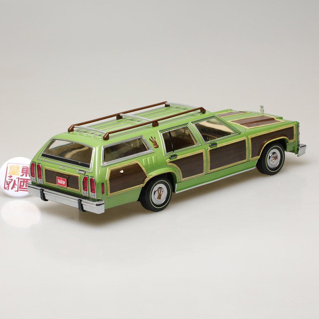 GREENLIGHT  NATIONAL LAMPOON/'S VACATION 1979 FAMILY TRUCKSTER WAGON QUEEN 1//18