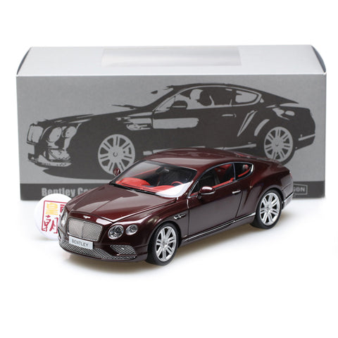 PARAGON 1:18 Bentley Continental GT Coupe 2016 (LHD) Diecast Model Car PA-98221L