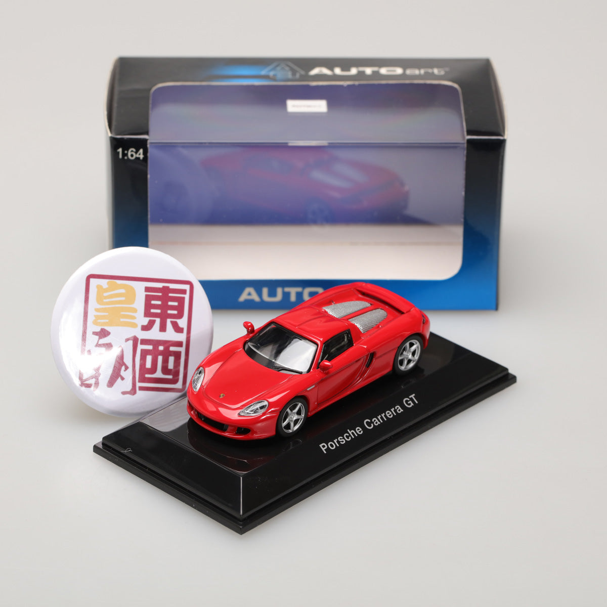 AUTOART 1:64 PORSCHE CARRERA GT RED 20633