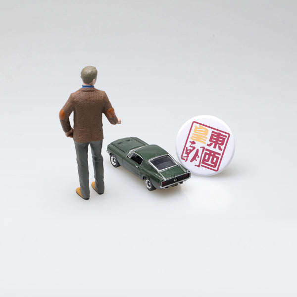 GreenLight 1:64 Hollywood - Bullitt (1968) - 1968 Ford Mustang GT Fastback with 1:18 Steve McQueen figure 29931