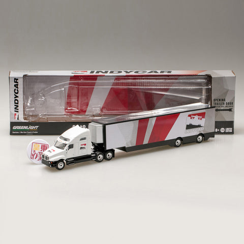 GreenLight 1:64 2018 Kenworth T2000 IndyCar Transporter 29951