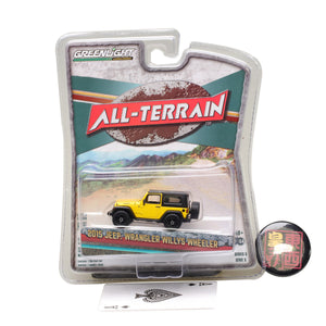 GreenLight  1:64 All-Terrain Series 5 - 2015 Jeep Wrangler Willys Wheeler Diecast Model Car 35070-F