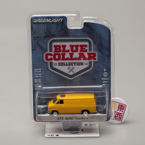 GreenLight 1:64 Blue Collar Collection Series 4 - 1972 GMC Vandura 35100-C