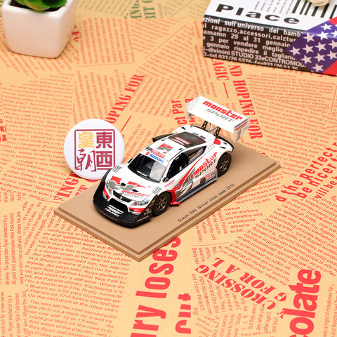 SPARK 1:43 Suzuki Sx4 #1 Winner Pikes Peak 2010 Nobubiro Tajma Resin Model Car 43PP10