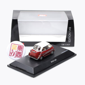 SCHUCO 1:43 BMW 600 Red/White 450235600