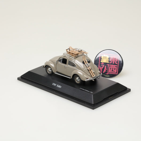 "SCHUCO 1:43 Volkswagen beetle ""Wintersport"" Diecast Model Car 450389300"