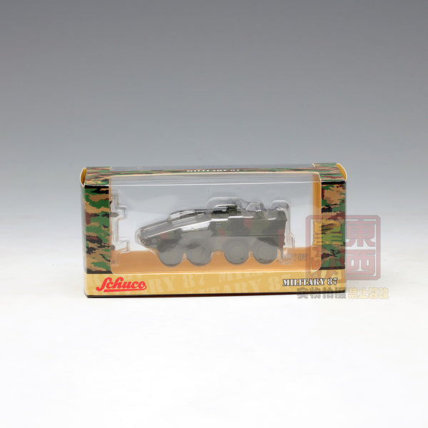 "SCHUCO 1:87 Boxer infantry transport vehicle ""Bundeswehr"" camouflaged Diecast Model Car 452623900"