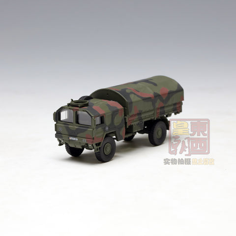 "SCHUCO 1:87 MAN 5t GL truck ""Bundeswehr"" camouflaged Diecast Model Car 452625900"