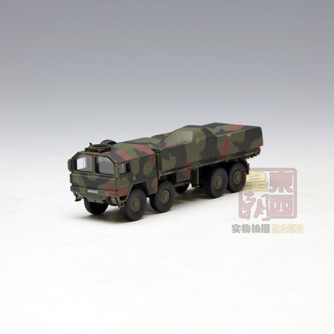 "SCHUCO 1:87 MAN 10t GL truck ""Bundeswehr"" camouflaged Diecast Model Car 452626100"