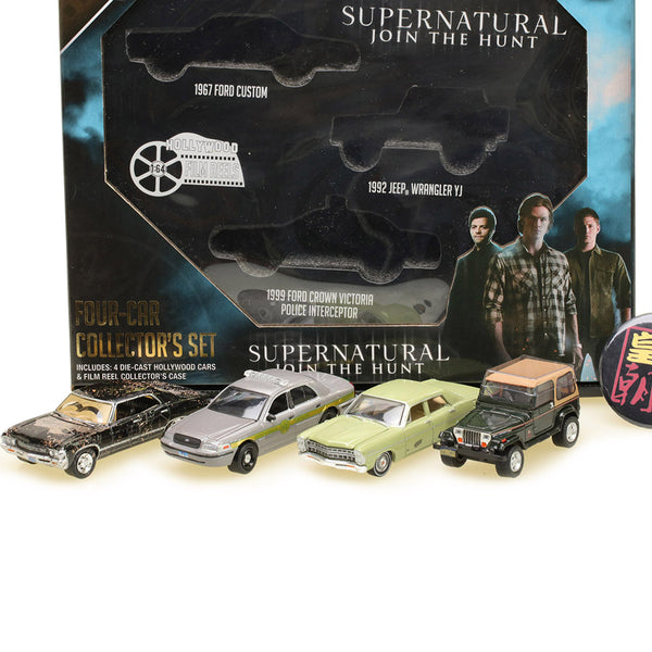 GreenLight  1:64 Hollywood Film Reels Series 5 - Supernatural (2005-Current TV Series) Season 3-10 Edition Diecast Model Car 59050-A
