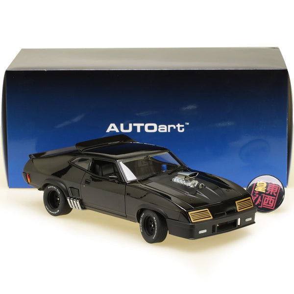 "AUTOart 1:18 FORD XB FALCON TUNED VERSION ""BLACK INTERCEPTOR"" (BLACK) Diecast Model Car 72775"