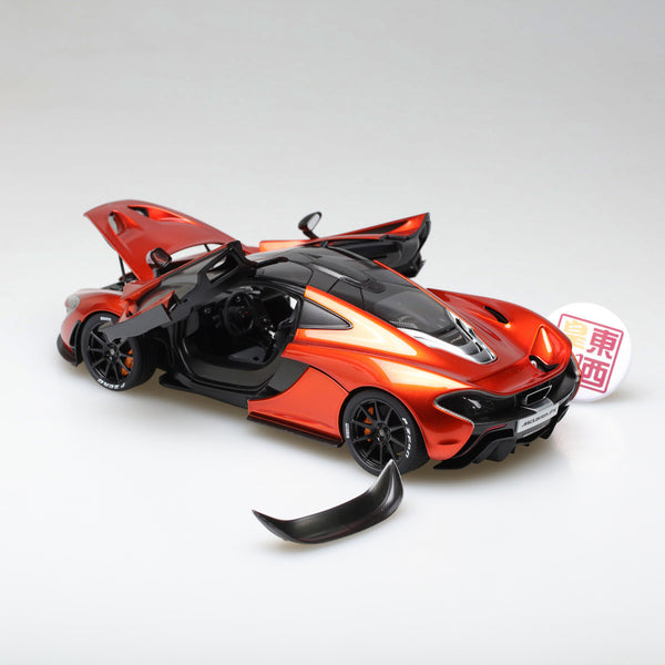 AUTOart 1:18 McLAREN P1 (VOLCANO ORANGE W/ ORANGE CALIPERS) 76025