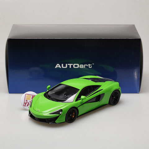 AUTOart 1:18 McLAREN 570S (MANTIS GREEN/BLACK WHEELS) 76042