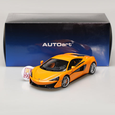 AUTOart 1:18 McLAREN 570S (McLAREN ORANGE/SILVER WHEELS) 76044