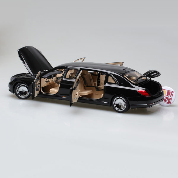 AUTOart 1:18 MERCEDES-MAYBACH S 600 PULLMAN (BLACK) 76297