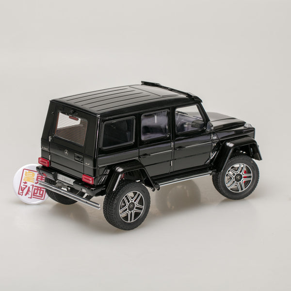 AUTOart 1:18 MERCEDES-BENZ G500 4X4 2 (GLOSS BLACK) 76317