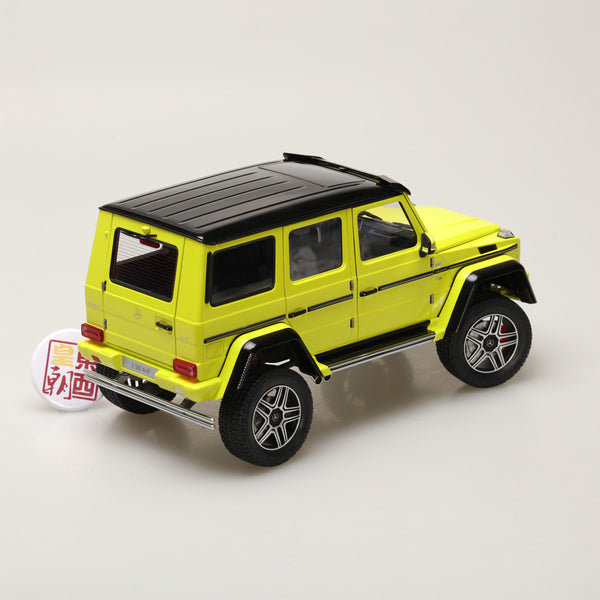 AUTOart 1:18 MERCEDES-BENZ G500 4X4 2 (ELECTRIC BEAM/YELLOW) 76319