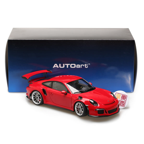 AUTOart 1:18 PORSCHE 911(991) GT3 RS (GUARDS RED/SILVER WHEELS) 78165