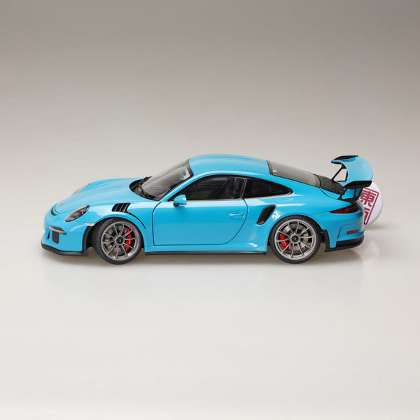 AUTOart 1:18 PORSCHE 911(991) GT3 RS (MIAMI BLUE/DARK GREY WHEELS) 78167