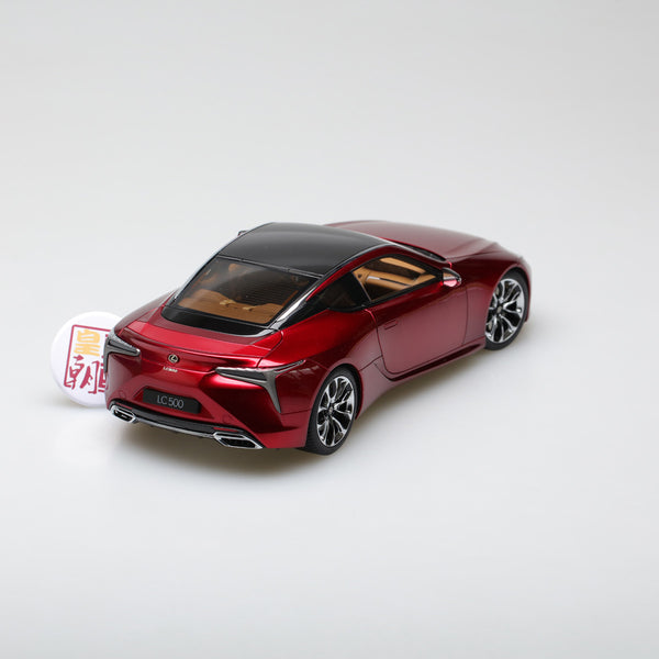 AUTOart 1:18 LEXUS LC500 (METALIC RED) 78848