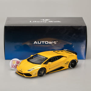 AUTOart 1:18 LB-WORKS LAMBORGHINI HURACAN (METALLIC YELLOW) 79124